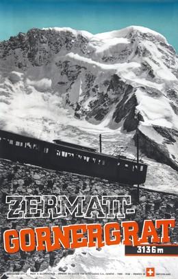 Zermatt – Gornergrat 3136 m, A. Klopfenstein