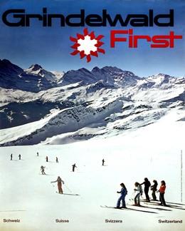 Grindelwald First – Schweiz – Suisse – Svizzera – Switzerland, Adolf Flückiger