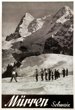 Mürren – Berner Oberland – Schweiz, Charles E. Brown