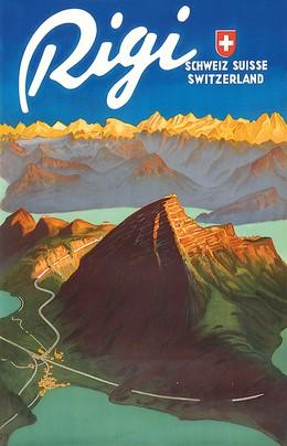 Rigi – Schweiz – Suisse – Switzerland, Carl Franz Moos