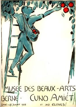 Musée des Beaux-Arts Berne – Cuno Amiet et ses eleves – 1928, Cuno Amiet
