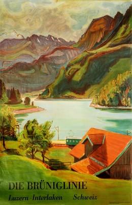 DIE BRÜNIGLINIE – Luzern-Interlaken Schweiz, Fritz Zbinden