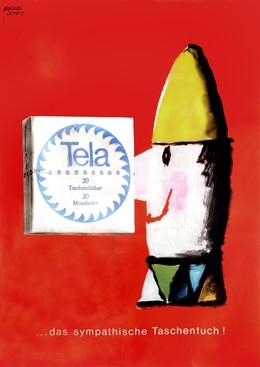 Tela…das sympathische Taschentuch, Herbert Leupin