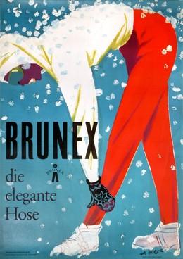 BRUNEX – die elegante Hose, Albert Borer