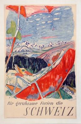 ..für geruhsame Ferien die SCHWEIZ.., Alois Carigiet