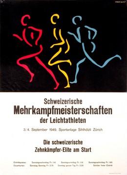 Athletics Meeting Zurich 1949, Herbert Leupin