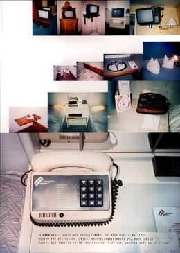 Museum für Gestaltung Zürich – Lieber Gast: Fotos aus Hotelzimmern, Cornel Windlin