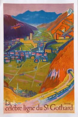 La célèbre ligne du St. Gothard, Albert Pfister