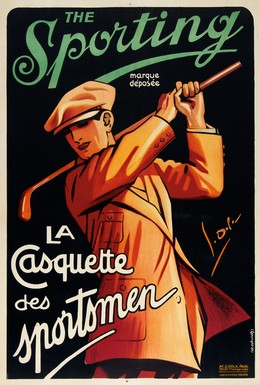 """The Sporting """"La Casquette des sportsmen"""", Georges Dola"""