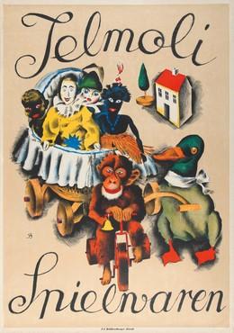 Jelmoli Store – Children's Toys, Otto Baumberger