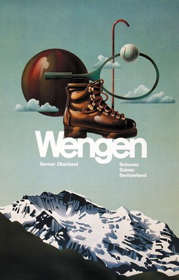 Wengen – Berner Oberland – Schweiz Suisse Switzerland, Artist unknown