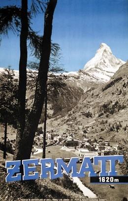 Zermatt – Matterhorn – 1620 m, Alfred Perren-Barberini