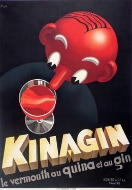 KINAGIN – le vermouth au Quina et au Gin, E. Patké