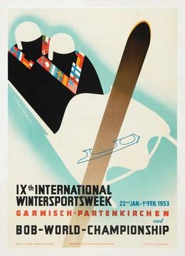 IXth International Wintersportsweek – BOB-WORLD-CHAMPIONSHIP 1953, Rüdiger Halt