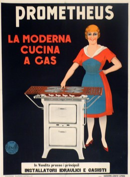 PROMETHEUS – la moderna cucina a gas, Artist unknown