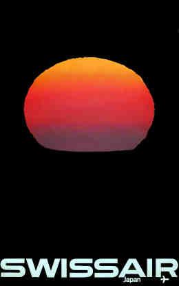 SWISSAIR – Japan, Manfred Bingler