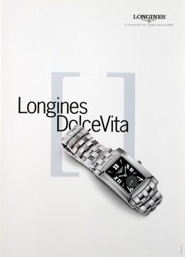 LONGINES – Elégance du temps depuis 1832 – Dolce Vita, Artist unknown