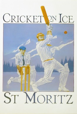 CRICKET ON ICE – ST. MORITZ, J. Rodgers