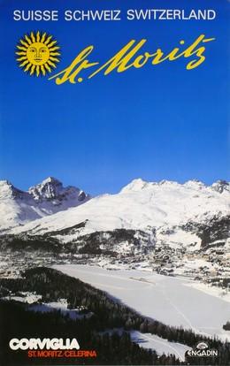 St. Moritz – Corviglia Celerina – Engadin – Suisse Schweiz Switzerland, Artist unknown