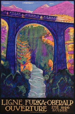 LIGNE FURKA-OBERALP – Ouverture été 1926 – Suisse, Daniele Buzzi