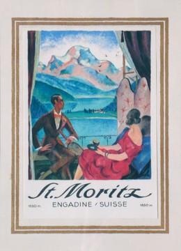 St. Moritz – Engadine / Suisse, Edouard Stiefel