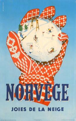 NORVÈGE Joies de la Neige, Inger Skjensvold Sörensen