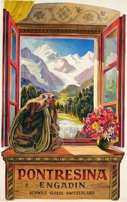 PONTRESINA ENGADIN – Schweiz Suisse Switzerland, Ernst Thommen