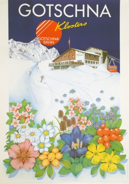 GOTSCHNA – Klosters, Artist unknown