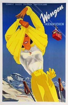 Wengen – MAENNLICHEN – SCHWEIZ SUISSE SVIZZERA SWITZERLAND, Martin Peikert