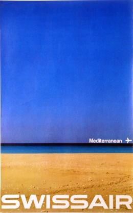 SWISSAIR – Mediterranean, Manfred Bingler