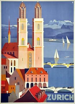 ZURICH – Die Metropole der Schweiz, Otto Baumberger