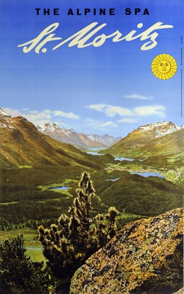 ST. MORITZ – The Alpine Spa, Walter ; Foto: Albert Steiner Herdeg