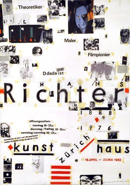 Kunsthaus Zürich – Hans Richter – Dada-Ausstellung 1982, Paul Brühwiler