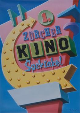 1st Zurich Cinema Spectacle, Georg Erhardt