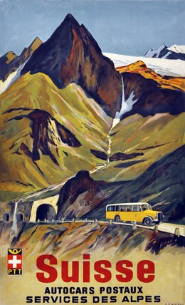 Suisse – Autocars Postaux Services des Alpes, Hans Beat Wieland