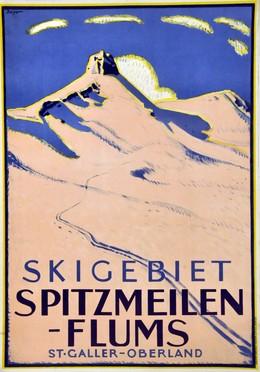 Spitzmeilen – Flums, Wilhelm Friedrich Burger