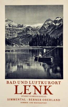 Lenk – Bernese Oberland, Artist unknown