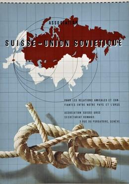 Association Suisse-Union Sovietique, Hans Erni