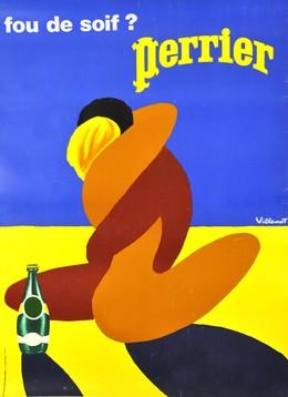 Perrier – fou de soif ?, Bernard Villemot