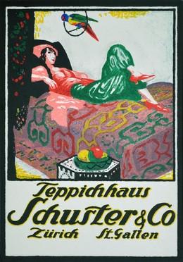 Teppichhaus Schuster & Co. Zürich & St. Gallen, Emil Cardinaux