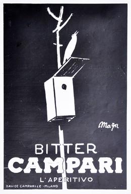 Bitter Campari, Magagnoli, Giuseppe (MAGA, 1878-1933)