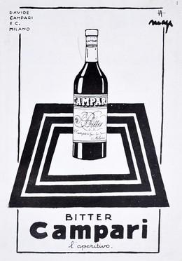 Bitter Campari – L'Aperitivo, Marcello Nizzoli