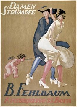 Damenstrümpfe B. Fehlbaum Bern, Emil Cardinaux