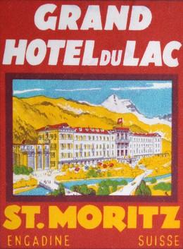 Grand Hotel du Lac St. Moritz, Artist unknown