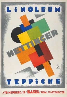 LINOLEUM HETTINGER – TEPPICHE – Steinenberg, 19 – Basel – beim Stadttheater, Genève Publivox
