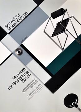 Museum für Gestaltung Zürich – Schweizer Möbel Design 1927 – 1984, Werner Jeker