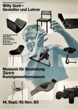 Museum für Gestaltung Zürich – Schweizer Design Pioniere: Willy Guhl Gestalter und Lehrer, Hamburger, Jörg (*1935) / Staehelin, Georg (*1942)