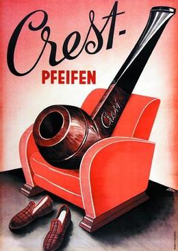 Crest Pfeifen, L. Wyler