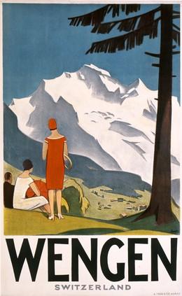 WENGEN – Switzerland, Otto Ernst