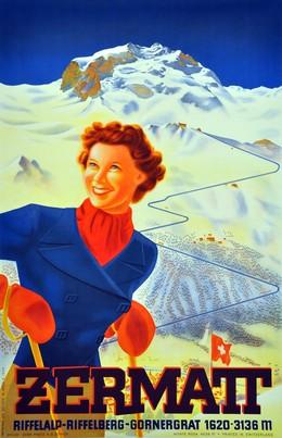 ZERMATT – Riffelalp Riffelberg-Gornergrat 1620-3136 m – Monte Rosa 4638 m, Leo Keck